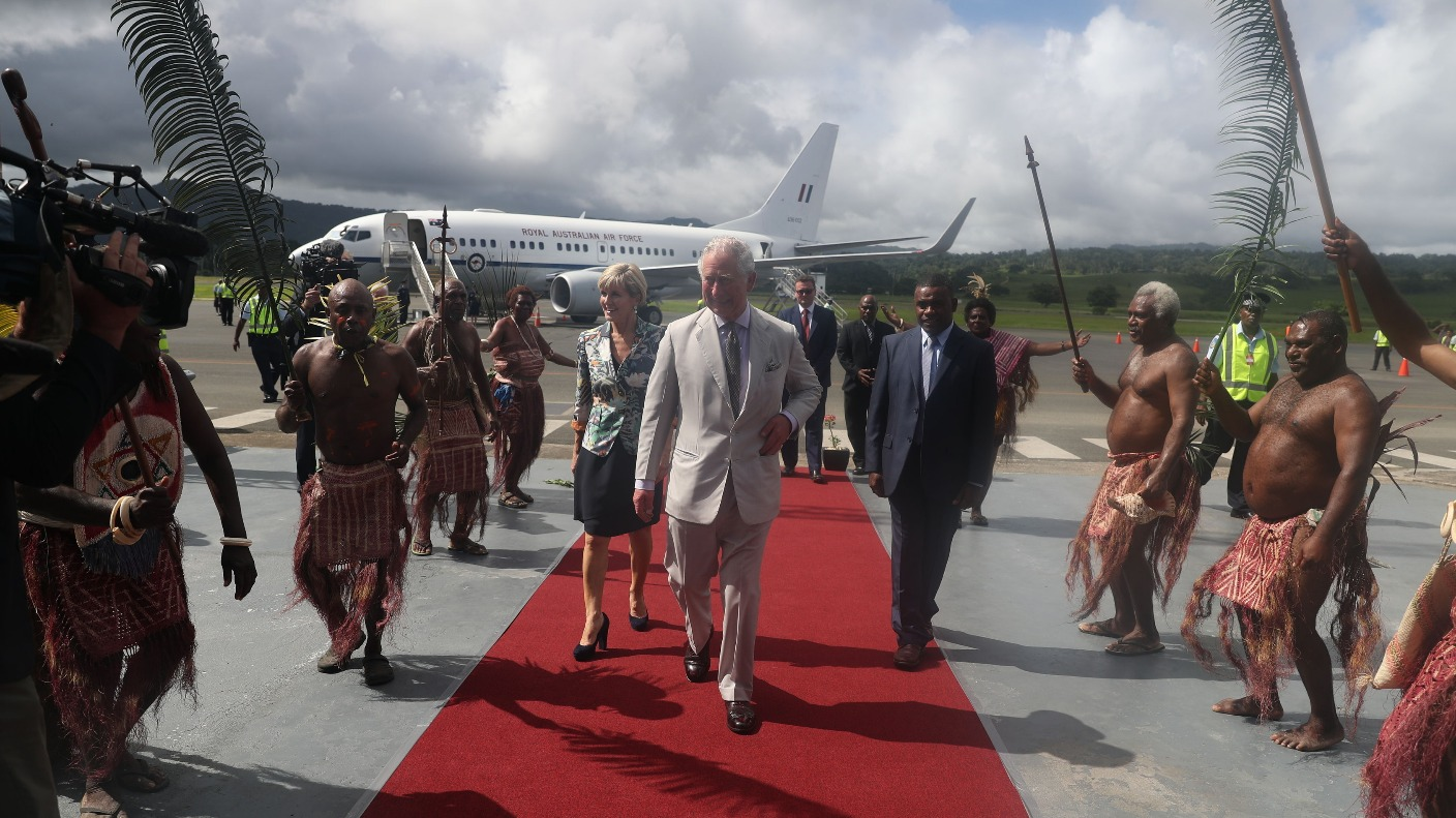 Prince Charles Made High Chief During Visit To Vanuatu