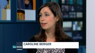 Caroline Berger on the progamme last night