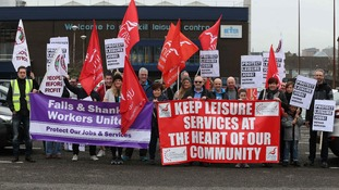 Falls and Shankill leisure centre workers