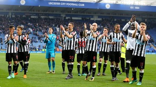 Newcastle move a step closer to Premier League safety with win over Leicester City at the King Power Stadium