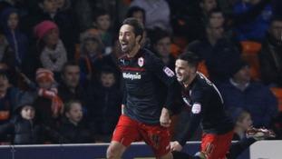 Tommy Smith celebrates