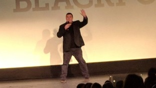 Peter Kay surprises fans at comedy premiere in Blackpool