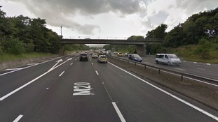 Appeal after pedestrian killed on the M20 in Kent