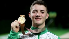 Rhys McClenaghan wins gold at the Commonwealth Games