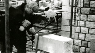 The stone masons that were employed in 1988 had to be retrained by the team at Arbeia to create the West Gate using Roman techniques.