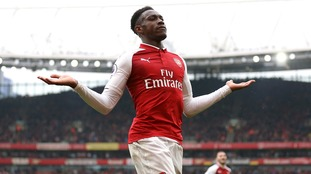 Danny Welbeck scores twice for Arsenal against Southampton as both sides see men sent off
