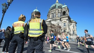 Six arrested over suspected knife attack plot on Berlin half-marathon