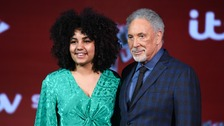 Ruti Olajugbagbe with mentor Sir Tom Jones