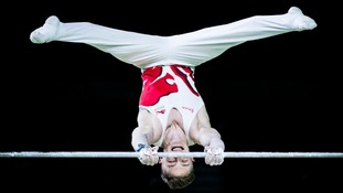 Nile Wilson's third gold came on the high bar