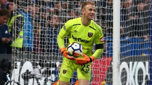 Joe Hart is focused on West Ham's Premier League survival not this summer's World Cup with England