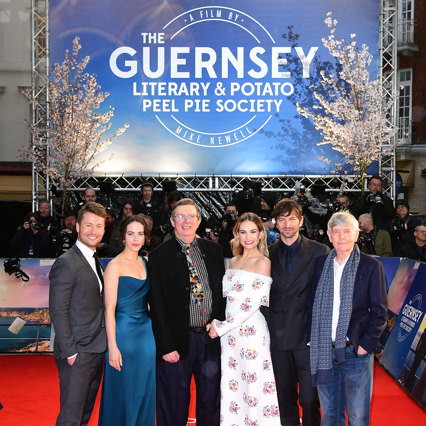 Literary News From All Corners Of The World: World Premiere Of Guernsey-based Film Takes Place