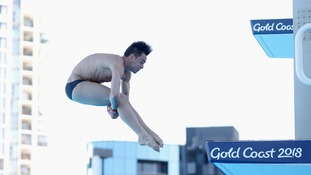 Tom Daley pulls out of 10m individual platform with hip injury