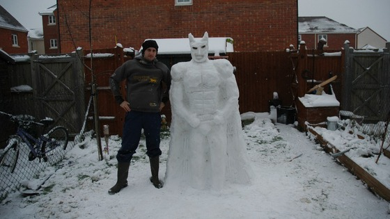 Snow Batman