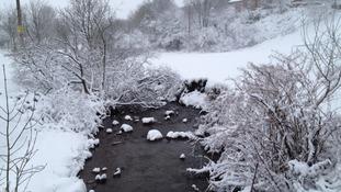 Snow in Nantymoel