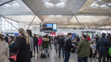 Delays to 30 flights caused chaos
