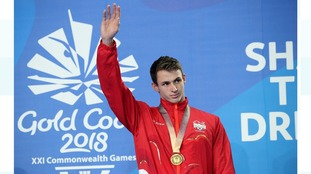 Gold for Plymouth's Ben Proud in the Commonwealth Games