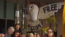 Anti-fracking protest