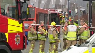 One critical and seven others injured in Luton bus crash