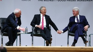 Architects of Good Friday Agreement mark 20th anniversary