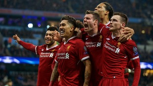 Liverpool reach Champions League semi-final for first time in 10 years