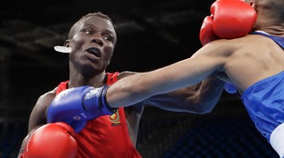 Cameroon's Simplice Fotsala fought in the 2016 Olympics has also gone missing at the Commonwealth Games.