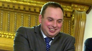 DUP special adviser Andrew Crawford