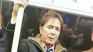 Multi-million pound pop star Sir Cliff Richard swaps chauffeur driven luxury for London Underground