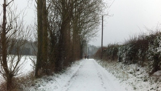 Faversham in the snow
