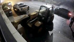 Truck ram raids shop in attempt to steal cash machine