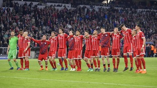 Bayern Munich are through to the Champions League semis after second-leg draw with Sevilla