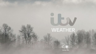 Cloudy with mist or fog, especially this morning and again overnight