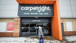 Carpetright stores across the Midlands facing closure