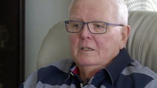 Pensioner describes hospital ordeal after heart attack