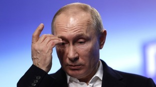 Vladimir Putin has been punished for his support of Bashar Assad.