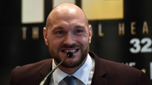 Tyson Fury has comeback fight set for June 9th at the Manchester Arena