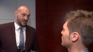 Tyson Fury 'terminates' ITV News interview when quizzed about ban and 'homophobic and sexist views'