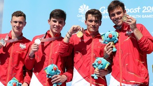 Plymouth divers win gold and silver at Commonwealth Games