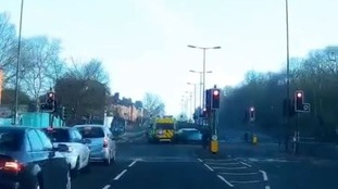 Drivers urged to be vigilant after car ploughed into ambulance carrying critically-ill child