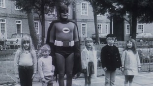 Long-lost Batman road safety footage released to search for 'lost' TV shows