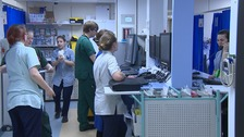 A&E at The Queen Elizabeth Hospital, King's Lynn