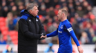 Everton boss Sam Allardyce has moved to dismiss claims there is a problem between himself and Wayne Rooney