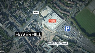 Man questioned over attack with 'axe-type weapon'