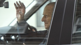 The Duke has now been discharged following his hip replacement on 4 April.
