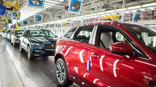 Jaguar Land Rover to cut production and 1,000 jobs at Solihull plant.