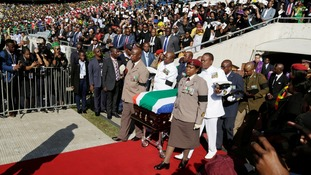 South Africa says goodbye to national hero Winnie Madikizela-Mandela