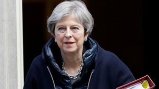 Air strikes in Syria should act as a warning to Russia over its use of chemical weapons, Theresa May has said.