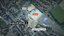 The incident happened in Haverhill on Thursday.