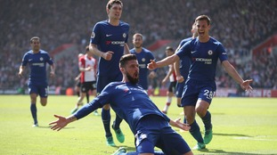 Chelsea superbly came back from two goals down to beat relegation-threatened Southampton