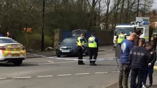 Controlled explosion carried out safely after grenade is reportedly found
