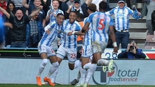 Tom Ince scored in stoppage time to hand a crucial three points to Huddersfield in their win over Watford